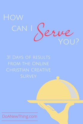 The results from the Online Christian Creative Survey are in!