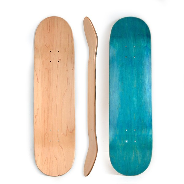 High quality 7 ply Canadian maple skateboard athletic pro blank deck