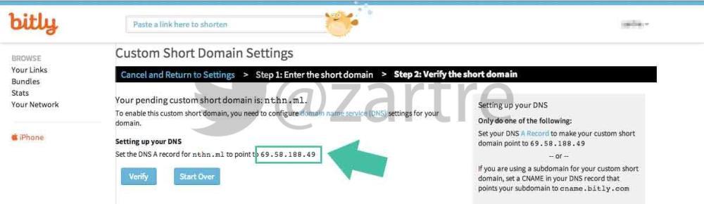 วิธีสร้าง Custom Short URL ของตัวเองด้วย Bit.ly (4/6)
