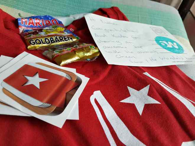 Thanks for the gifts, Wunderlist! (2/2)