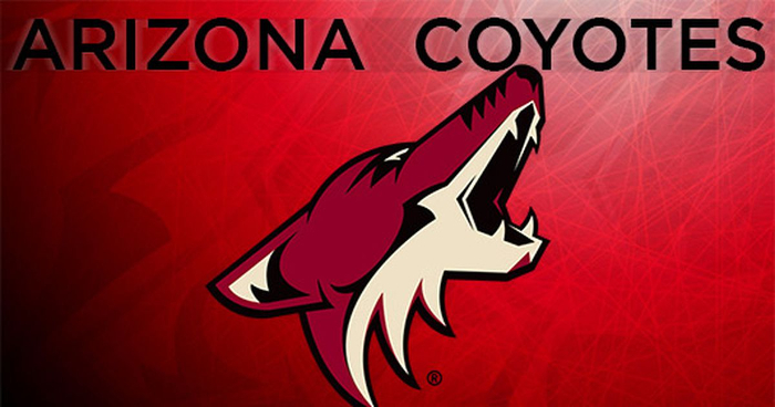 Arizona Coyotes logo courtesy of foxsports.com
