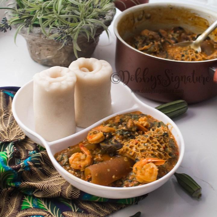Otong Soup (Efik Okra Soup)