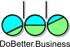 DoBetter.Business marketing logo