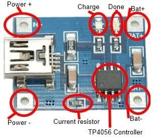 Módulo TP4056
