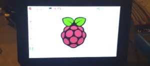 Display oficial Raspberry