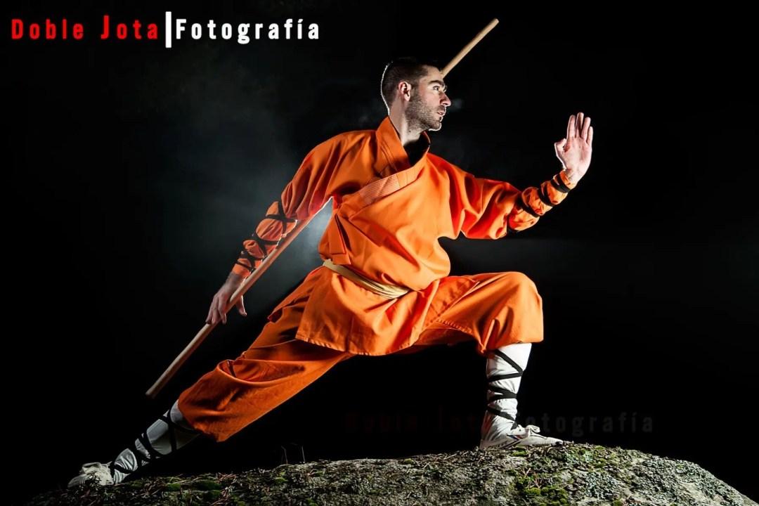 Sesión Kung Fu con Gonzalo
