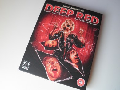 Deep Red Arrow Films Limited Edition frontal