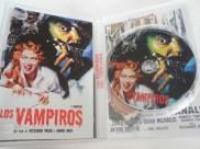 Interior del DVD de Los vampiros (I Vampiri), de Riccardo Freda