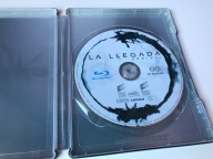 La llegada steelbook interior disco