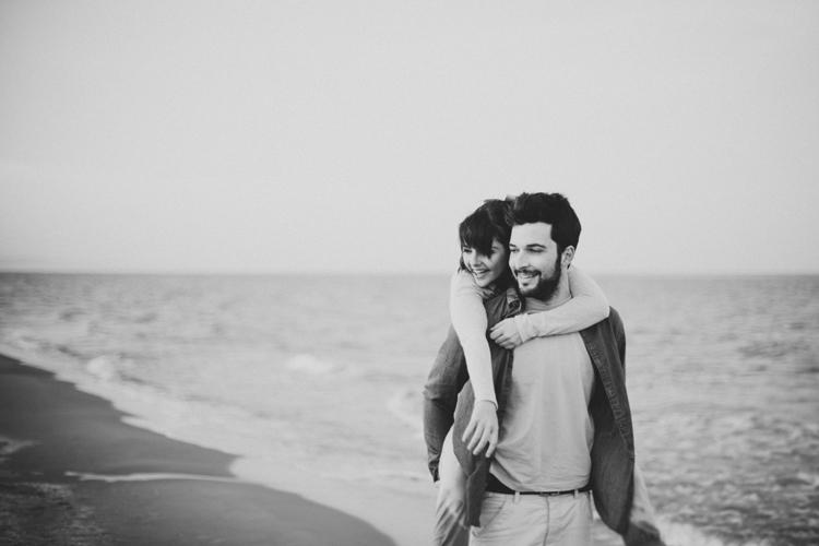 DoblelenteBoda - preboda en la playa