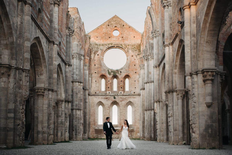 Wedding at San Galgano Abbey - Tuscany Wedding - Doblelente