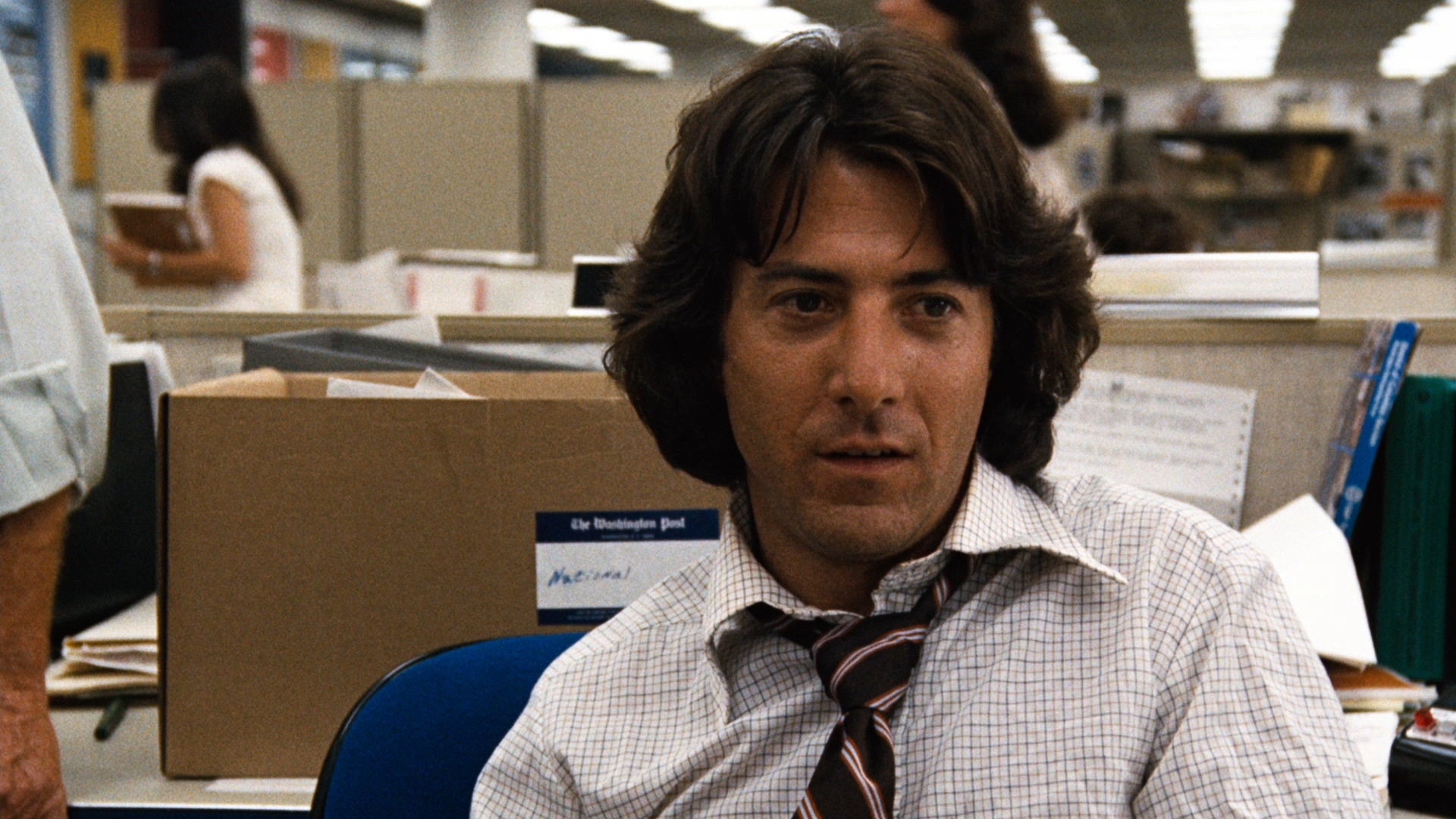 Image result for dustin hoffman all the president's men