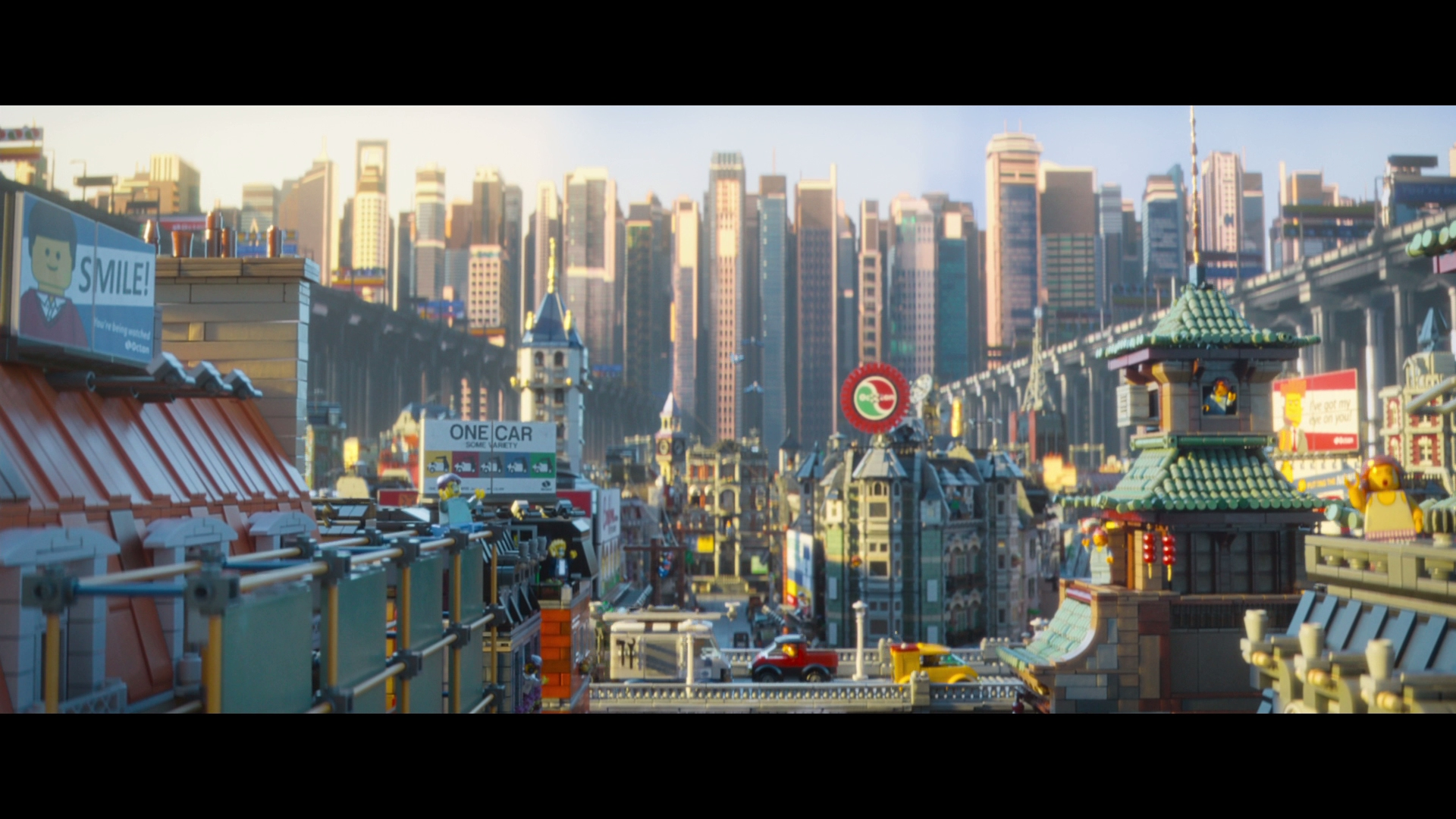 lego movie city background - photo #11