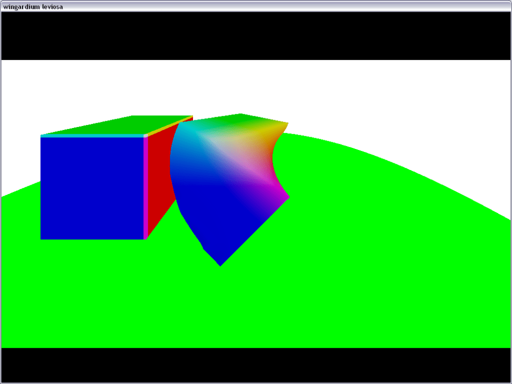 Ray marching with Distance field. (1/5)