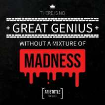 Great Genius Includes Madness