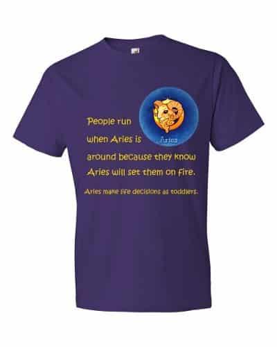 Aries T-Shirt (purple)