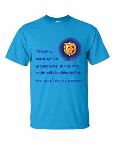 Aries T-Shirt (sapphire)