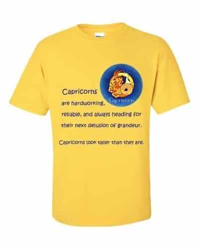 Capricorn T-Shirt (daisy)