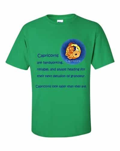 Capricorn T-Shirt (shamrock)