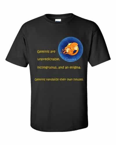 Gemini T-Shirt (black)