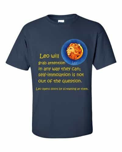 Leo T-Shirt (navy)