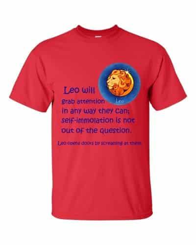 Leo T-Shirt (red)