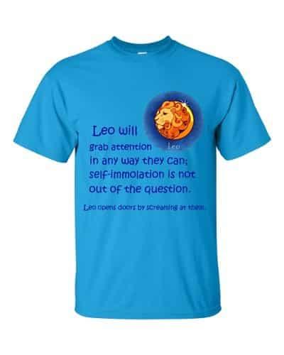 Leo T-Shirt (sapphire)