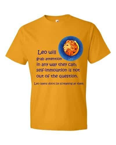 Leo T-Shirt (tangerine)