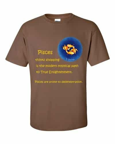 Pisces T-Shirt (chestnut)