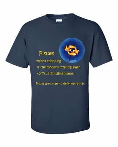 Pisces T-Shirt (navy)