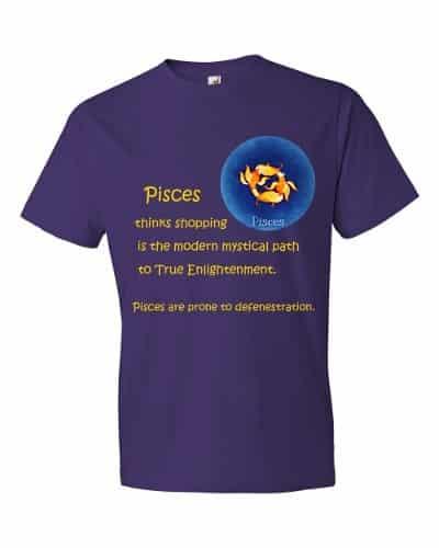 Pisces T-Shirt (purple)