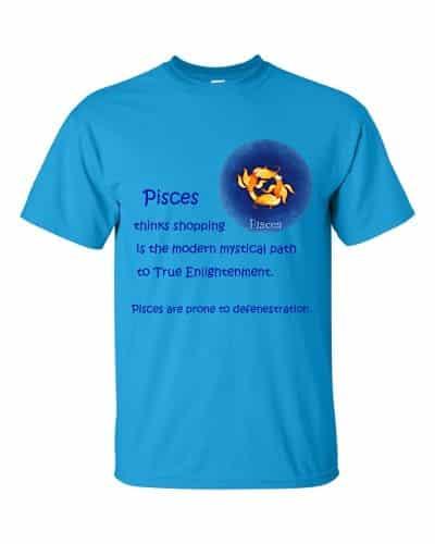 Pisces T-Shirt (sapphire)