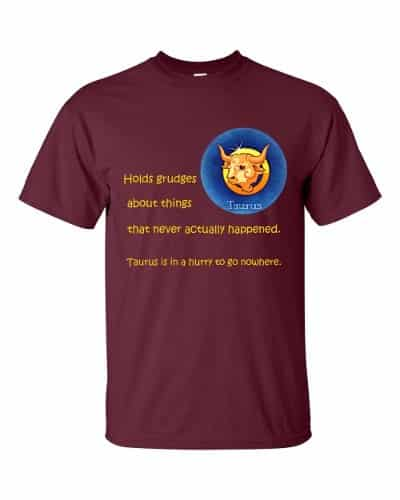 Taurus T-Shirt (maroon)