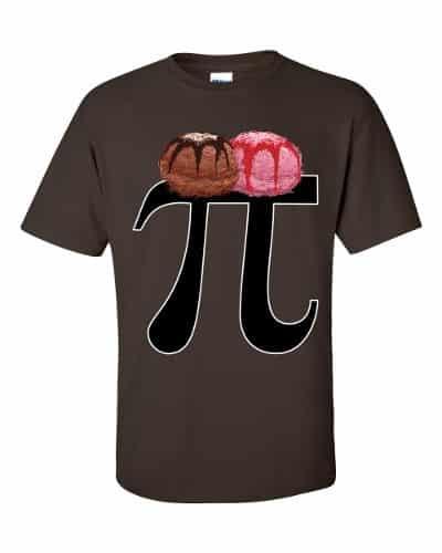 Pi a la Mode T-Shirt (chocolate)