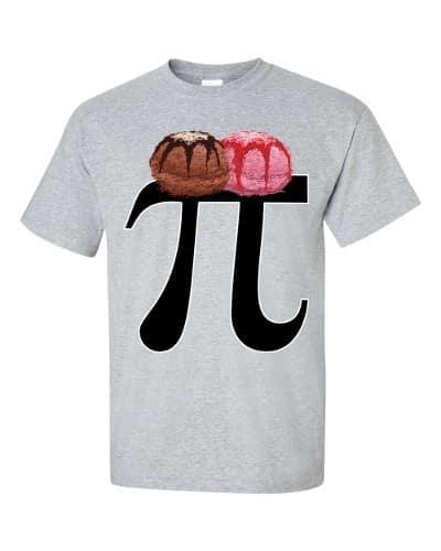 Pi a la Mode T-Shirt (slate)