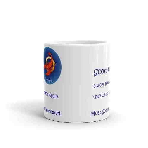 Scorpio Mug - 11 front