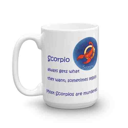 Scorpio Mug - 15 left