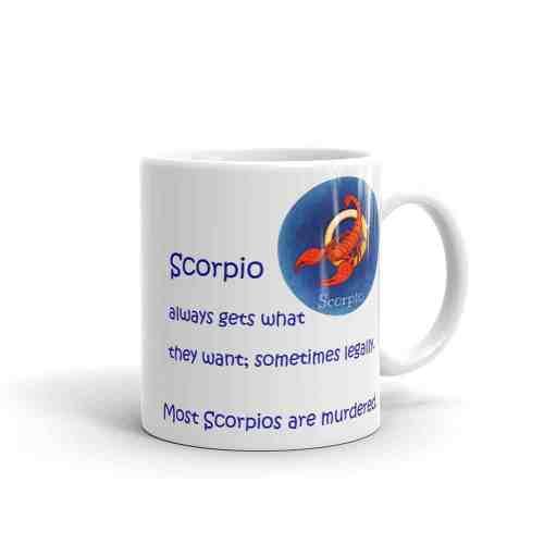Scorpio Mug - 11 right