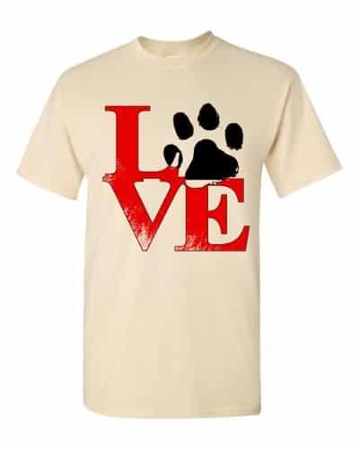 Puppy Love T-Shirt (natural)
