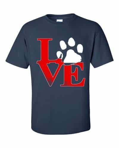 Puppy Love T-Shirt (navy)