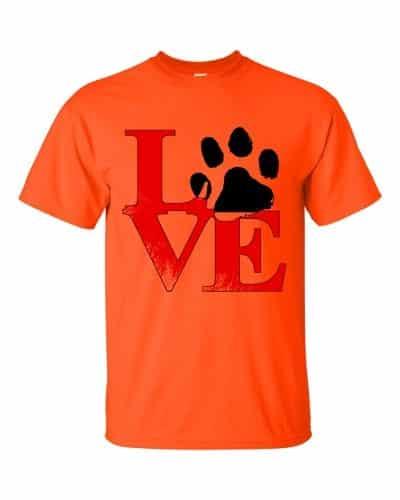 Puppy Love T-Shirt (orange)