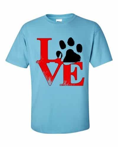 Puppy Love T-Shirt (sky)