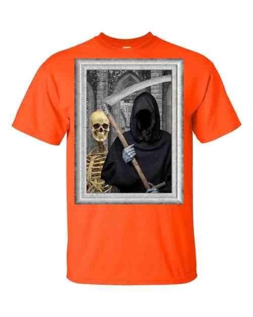 Transylvanian Gothic T-Shirt (orange)