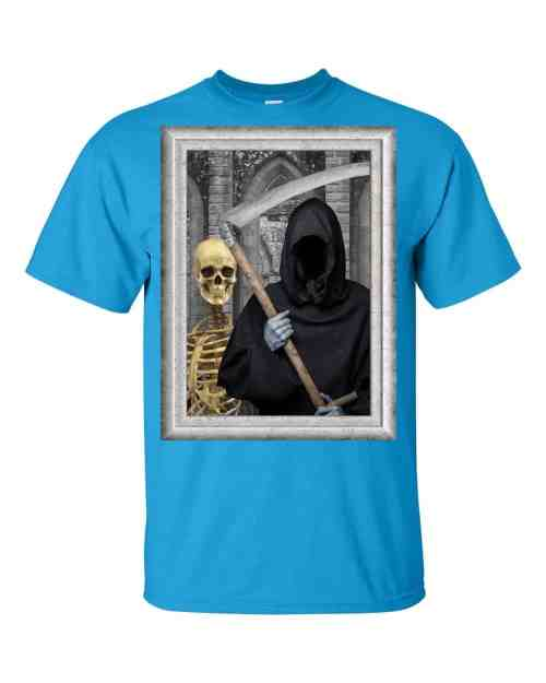 Transylvanian Gothic T-Shirt (sapphire)
