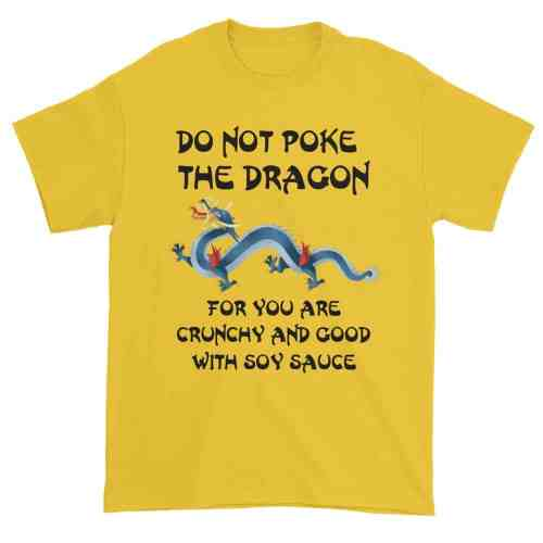 Do Not Poke the Dragon (daisy)