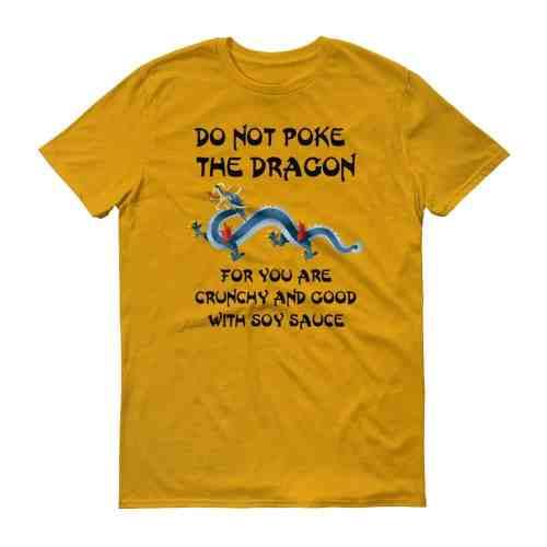 Do Not Poke the Dragon (tangerine)