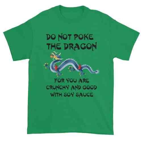 Do Not Poke the Dragon (shamrock)