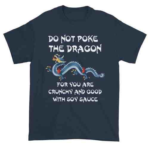 Do Not Poke the Dragon (navy)