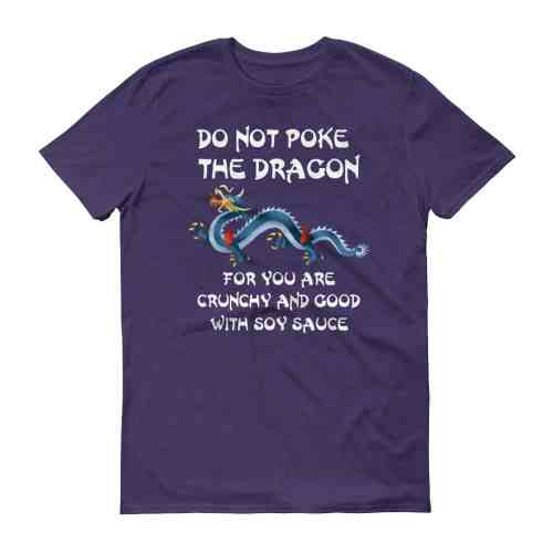 Do Not Poke the Dragon (purple)