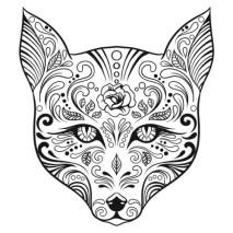Sugar Fox Colouring